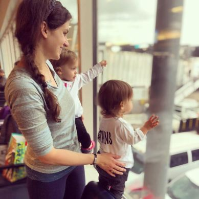 Mama & twins
